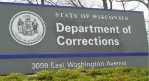 Wisconsin - Dept of Corrections - Central Office Sign